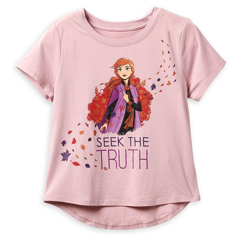 Anna ''Seek the Truth'' T-Shirt for Girls – Frozen 2