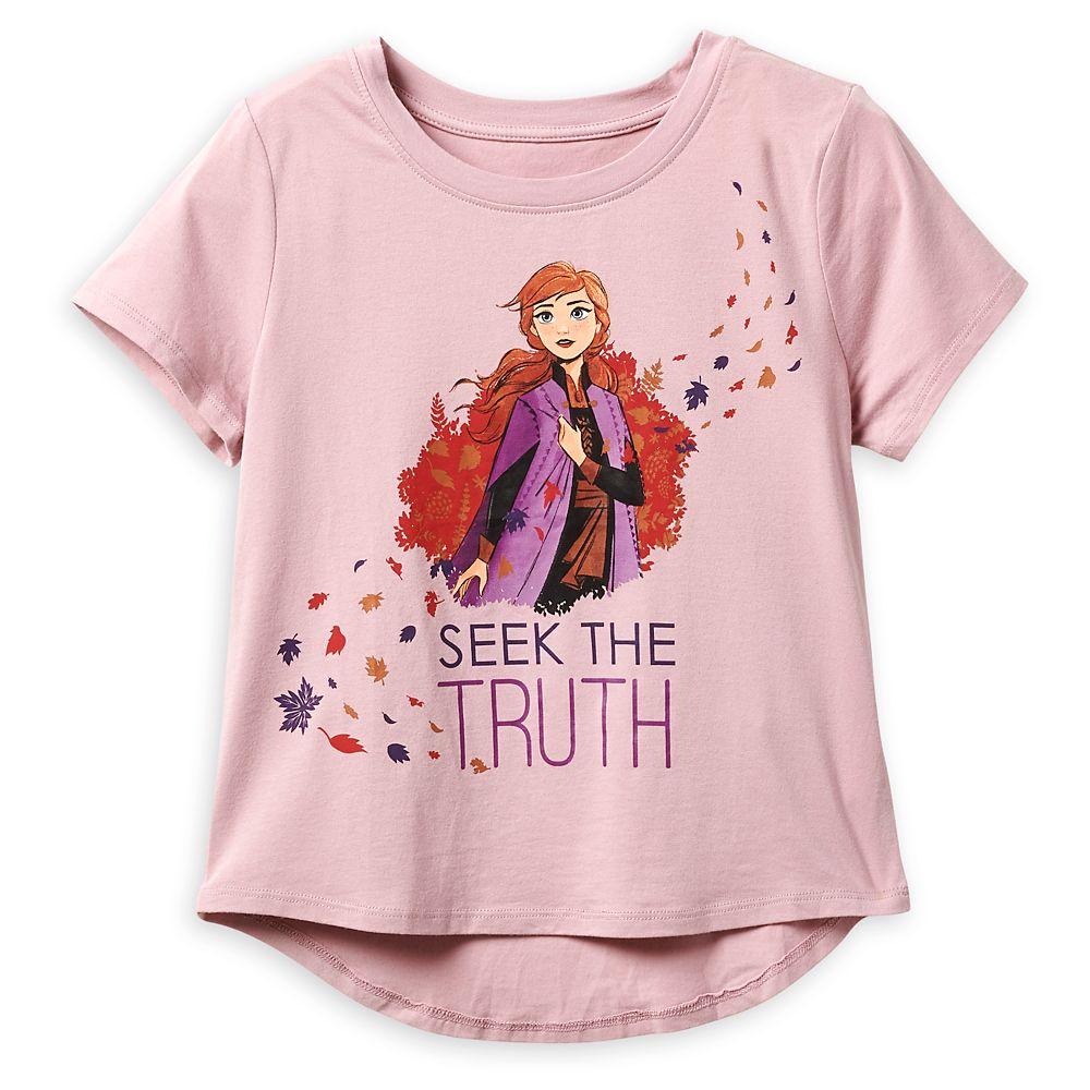 Anna ''Seek the Truth'' T-Shirt for Girls – Frozen 2