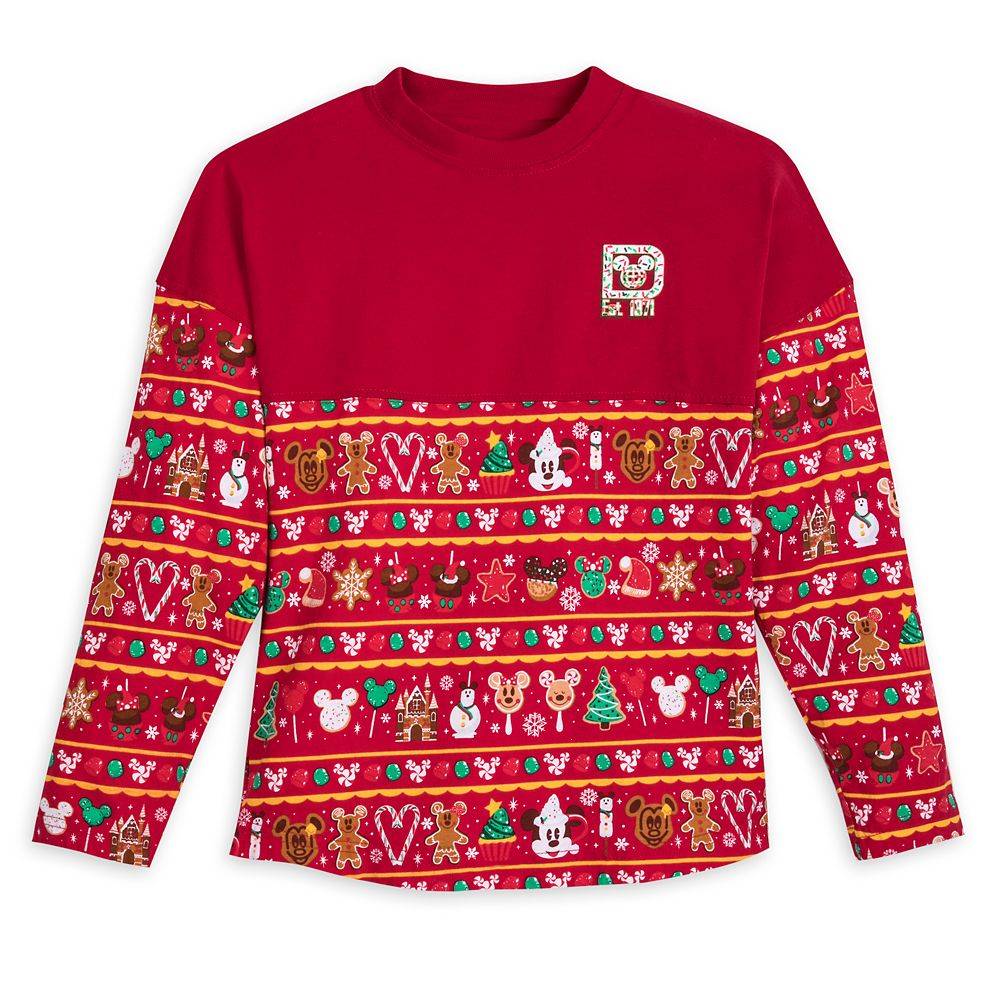 Mickey and Minnie Mouse Holiday Spirit Jersey for Kids – Walt Disney World