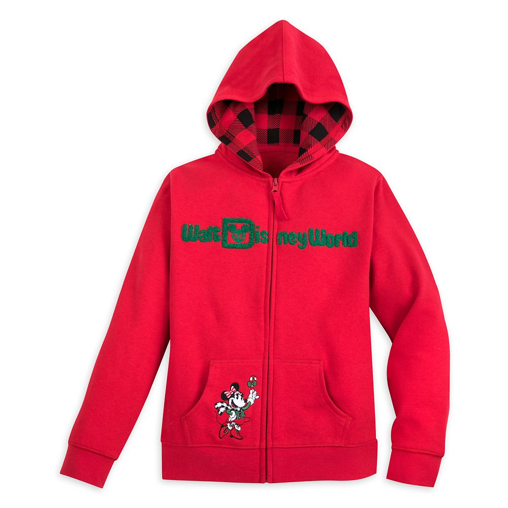 Mickey Mouse and Friends Holiday Hoodie for Girls – Walt Disney World
