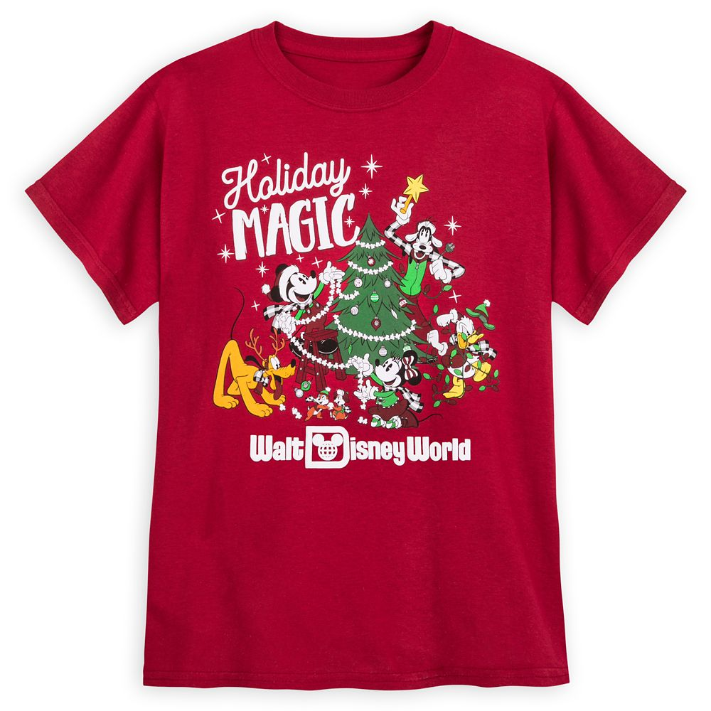 Mickey Mouse and Friends Holiday Magic T-Shirt for Kids – Walt Disney World