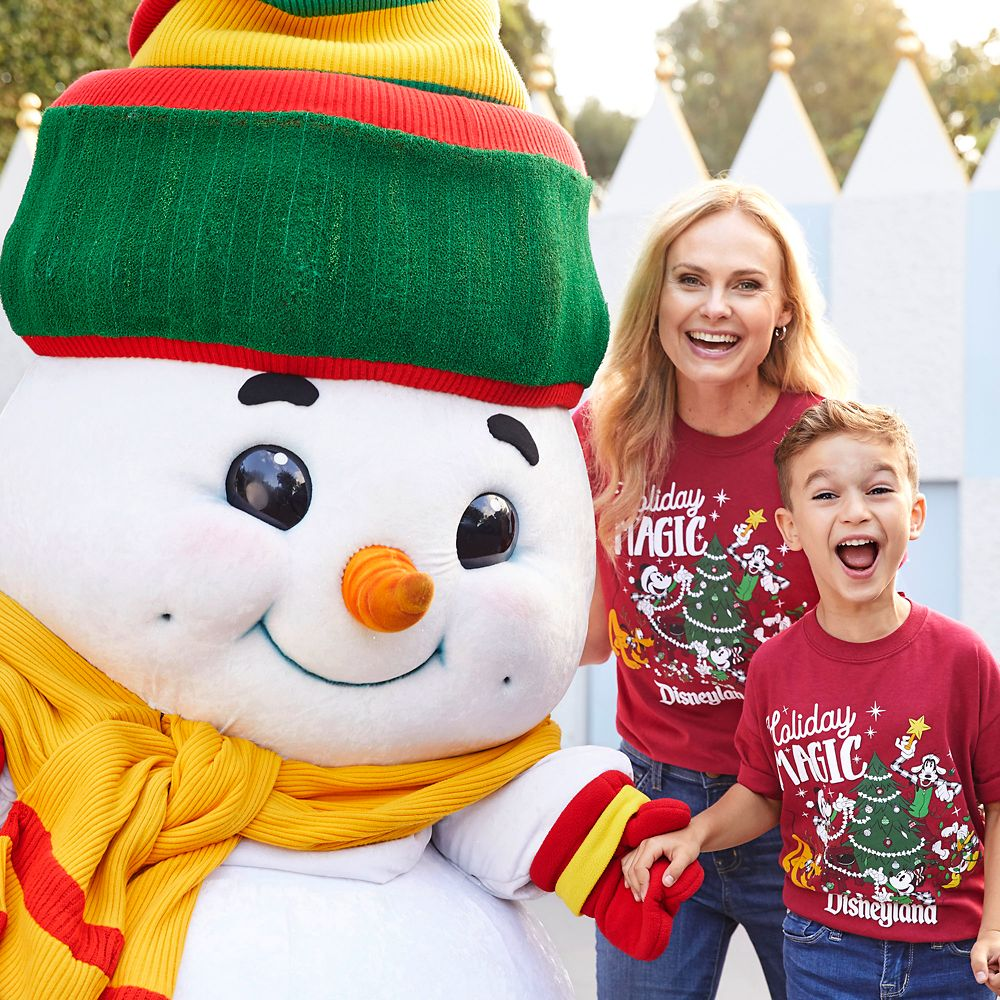 Mickey Mouse and Friends Holiday Magic T-Shirt for Kids – Disneyland