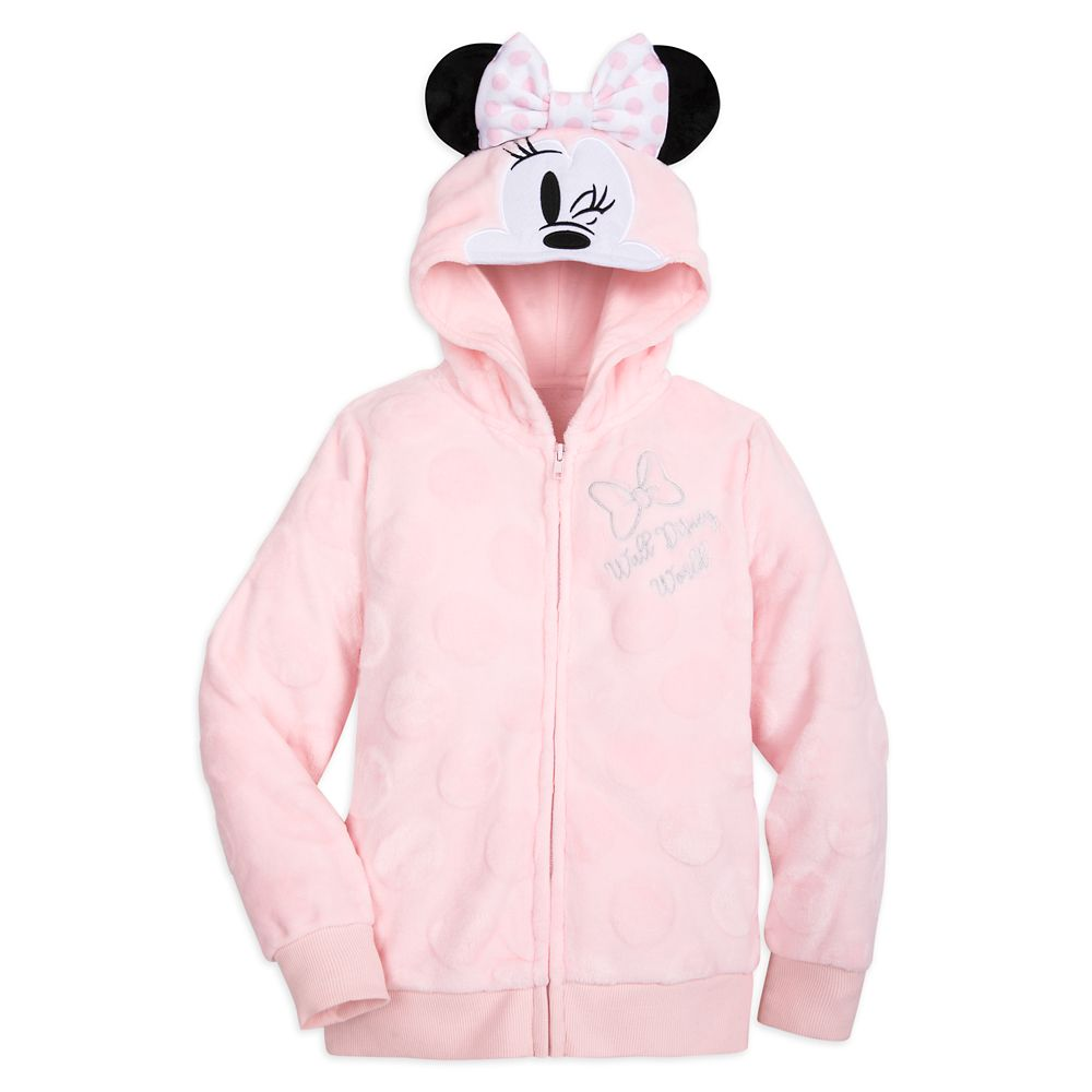 Minnie Mouse Fleece Hoodie for Girls