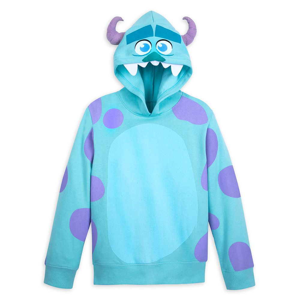 Sulley Costume Pullover Hoodie for Kids
