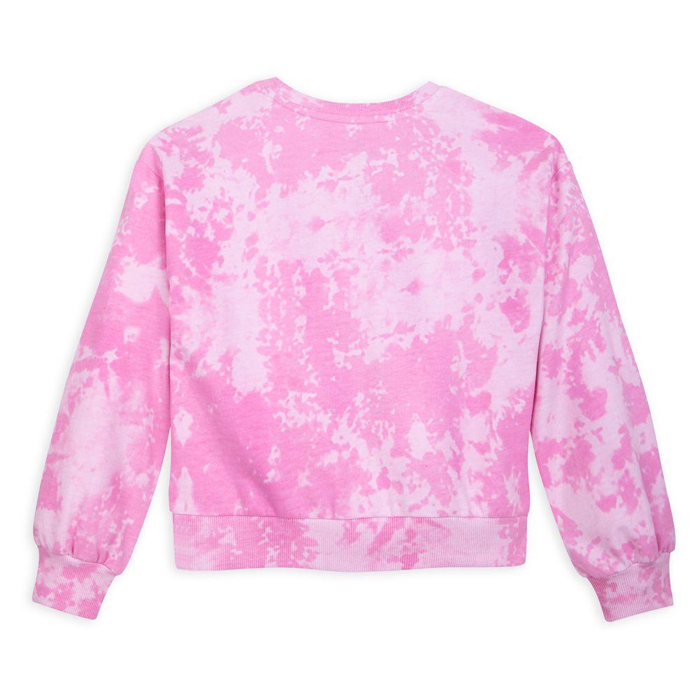 Fantasyland Castle Tie-Dye Reversible Sequin Sweatshirt for Girls
