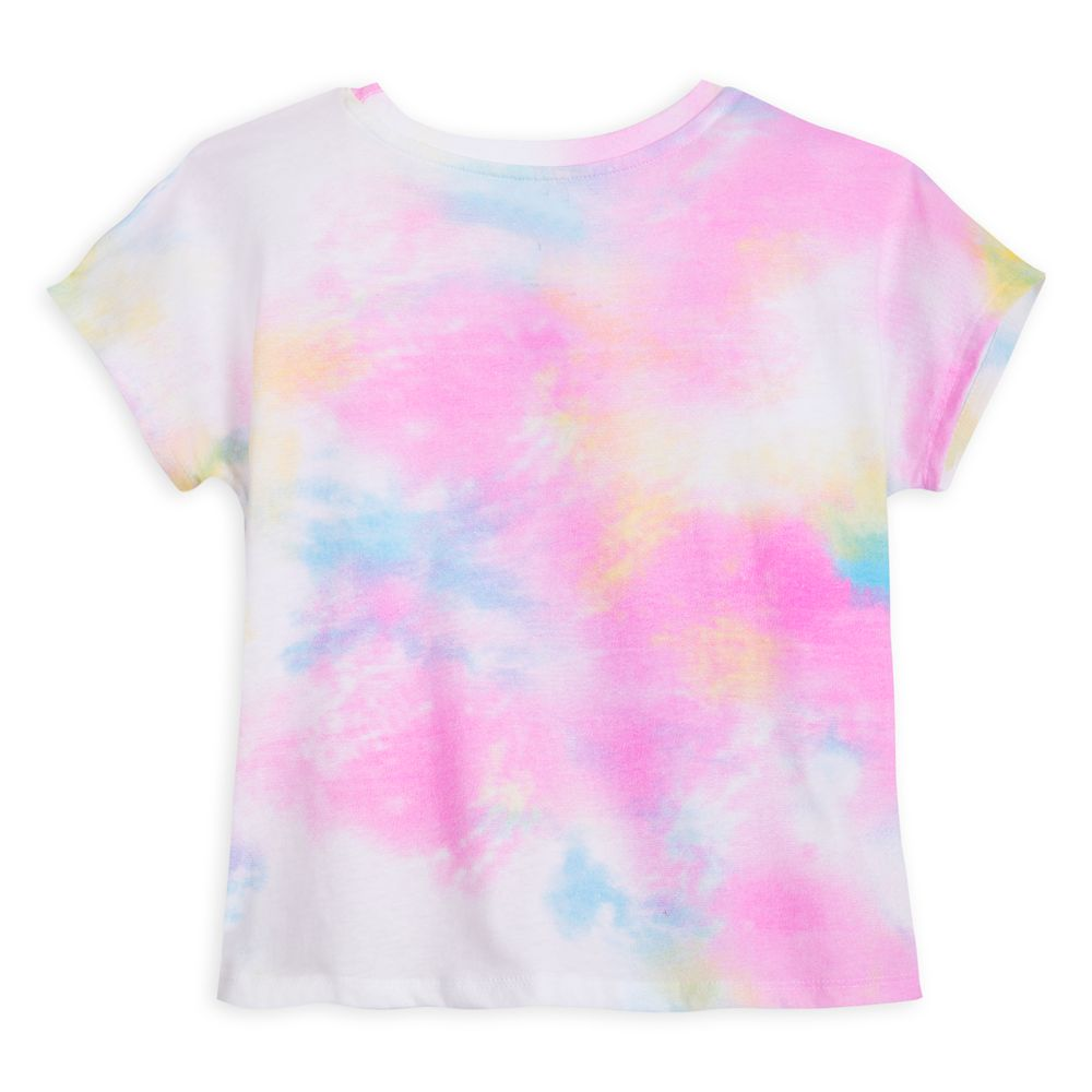 Minnie Mouse Bow Tie-Dye Reversible Sequin T-Shirt for Girls