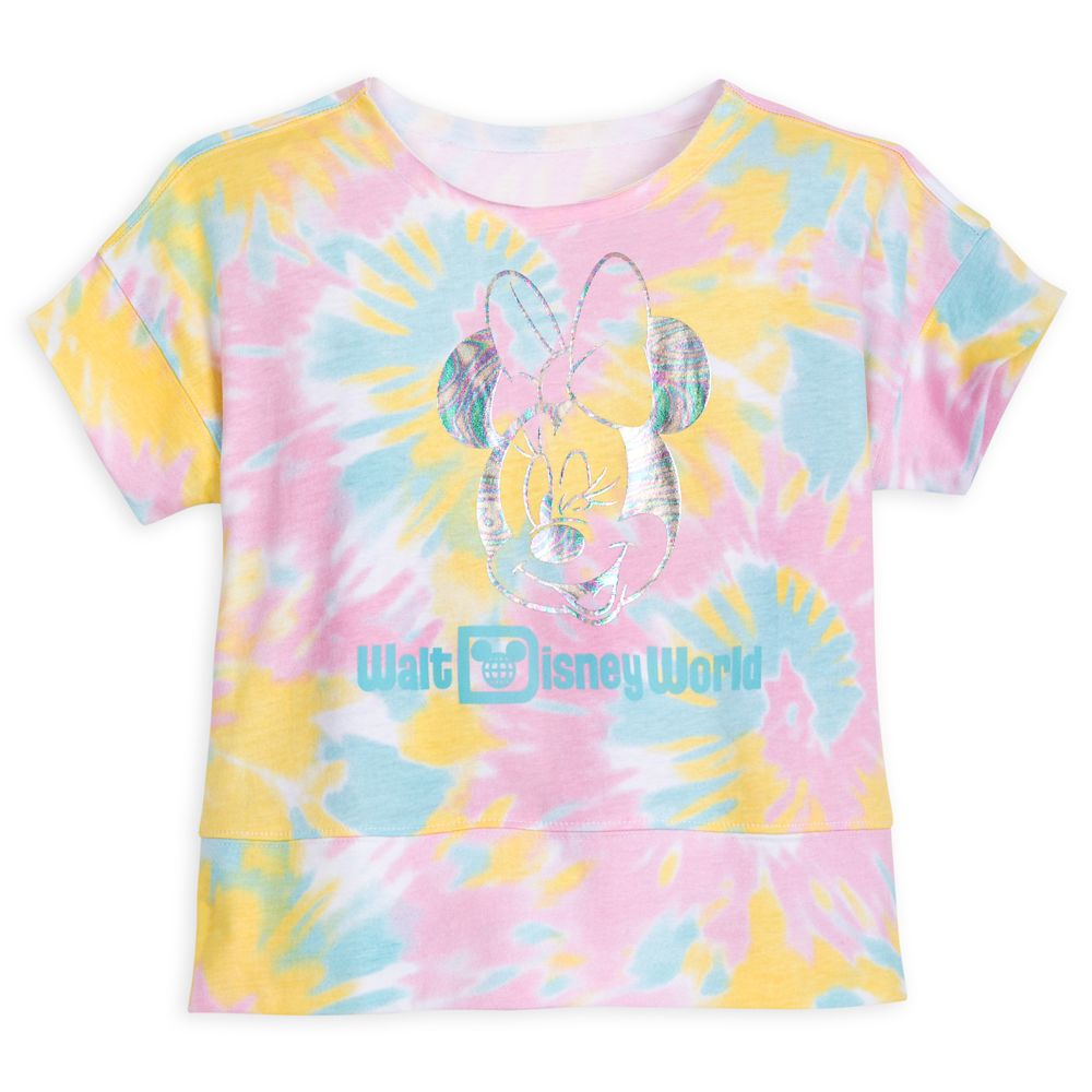 Minnie Mouse Tie-Dye Top for Girls – Walt Disney World