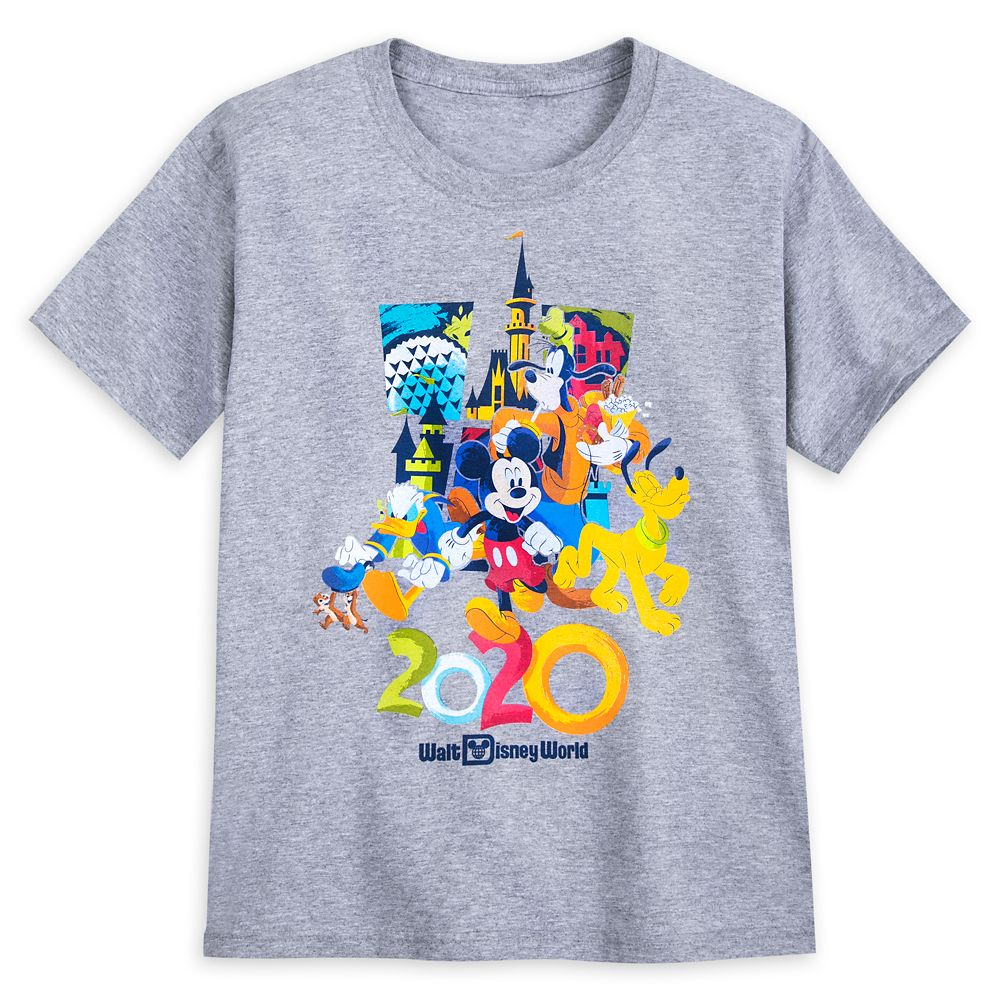 Mickey Mouse and Friends T-Shirt for Boys – Walt Disney World 2020