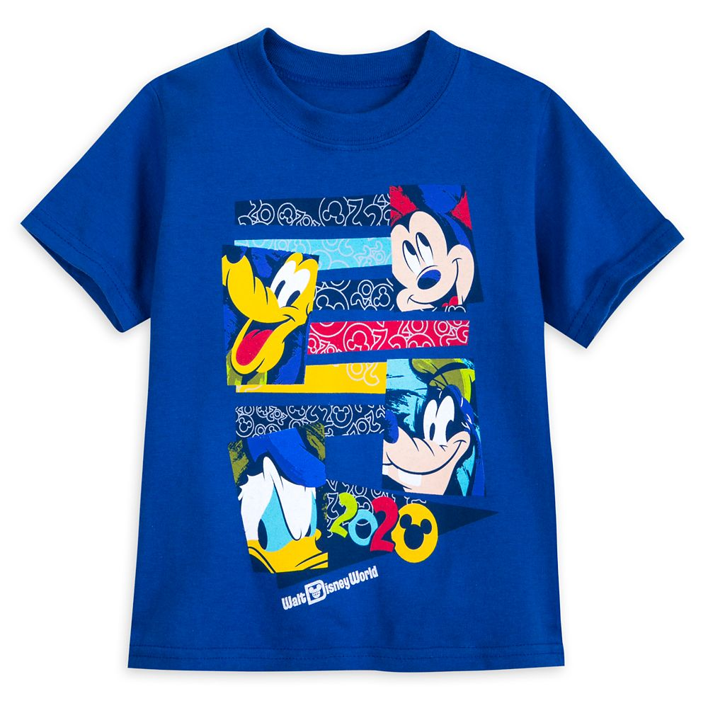 Mickey Mouse and Friends T-Shirt for Toddlers – Walt Disney World 2020