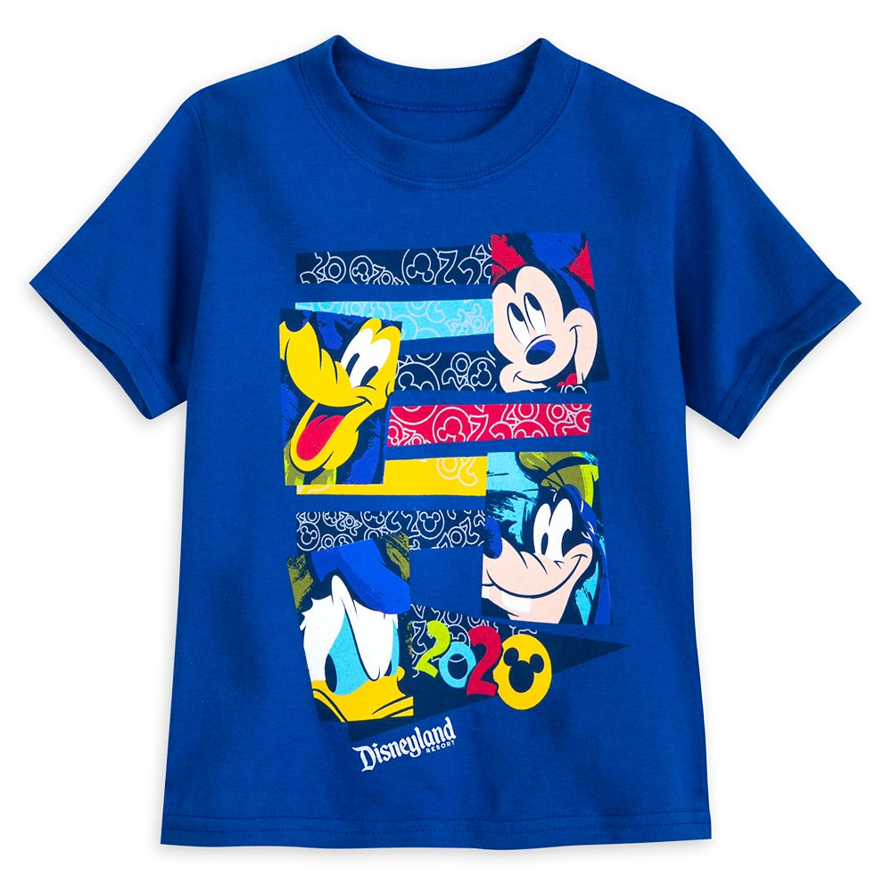 Mickey Mouse and Friends T-Shirt for Toddlers – Disneyland 2020
