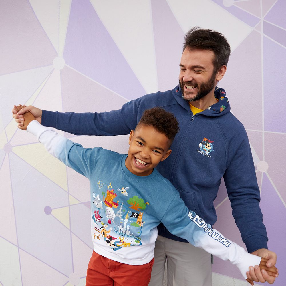 Mickey Mouse and Friends Pullover Sweatshirt for Kids – Walt Disney World