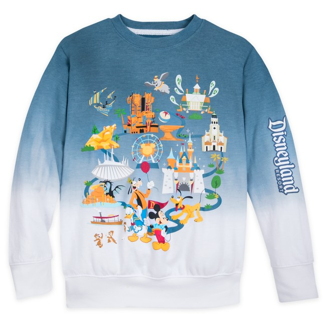 Mickey Mouse and Friends Pullover Sweatshirt for Kids – Disneyland