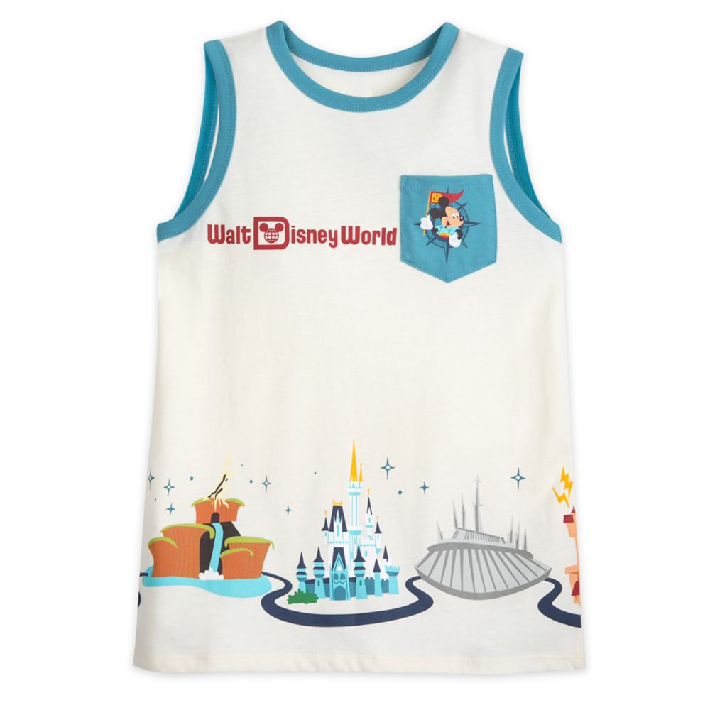 Walt Disney World Tank Top for Boys