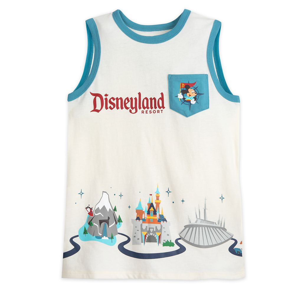 Disneyland Resort Tank Top for Boys