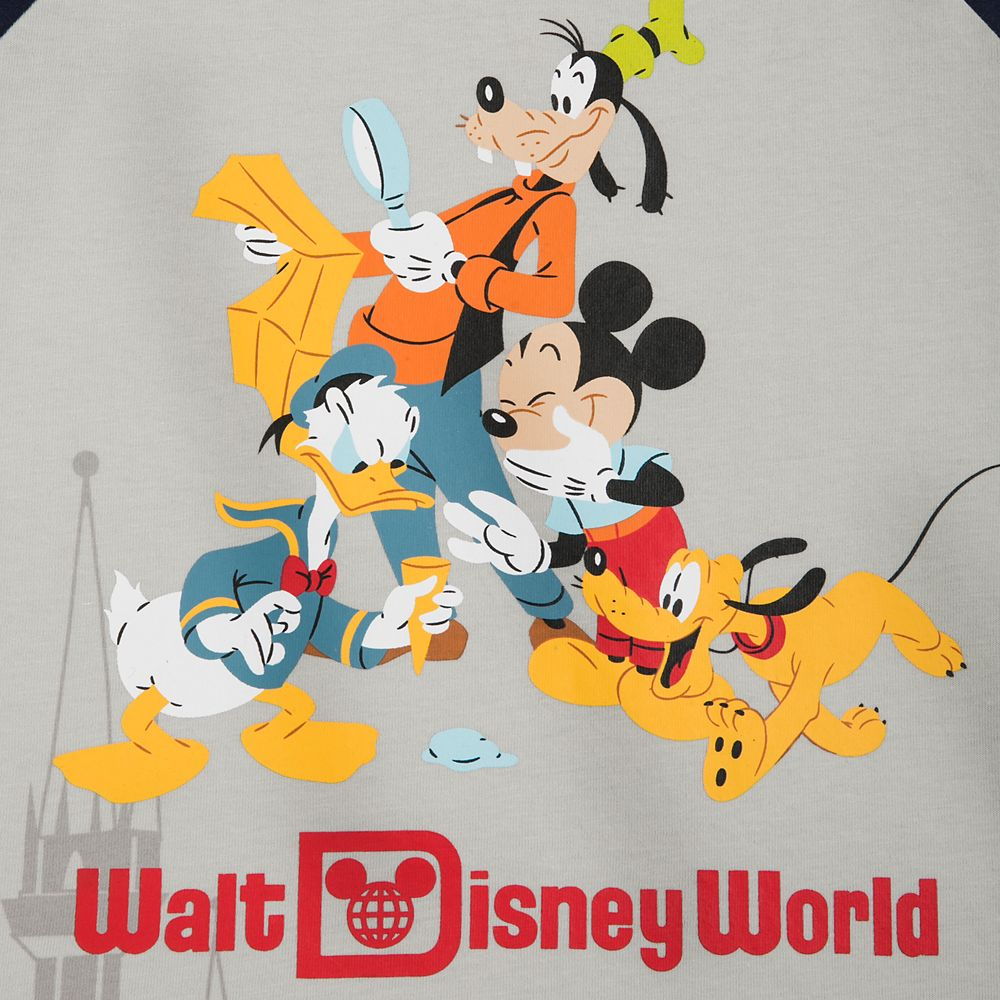 Mickey Mouse and Friends Raglan T-Shirt for Boys – Walt Disney World