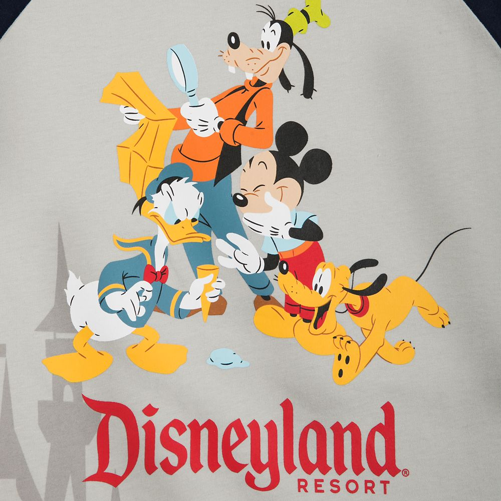 Mickey Mouse and Friends Raglan T-Shirt for Boys – Disneyland