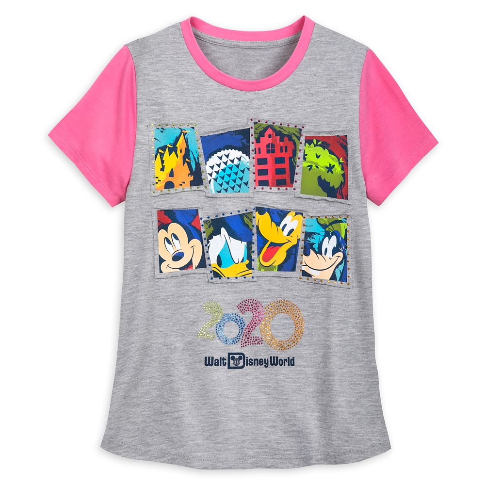 Mickey Mouse and Friends T-Shirt for Girls – Walt Disney World 2020