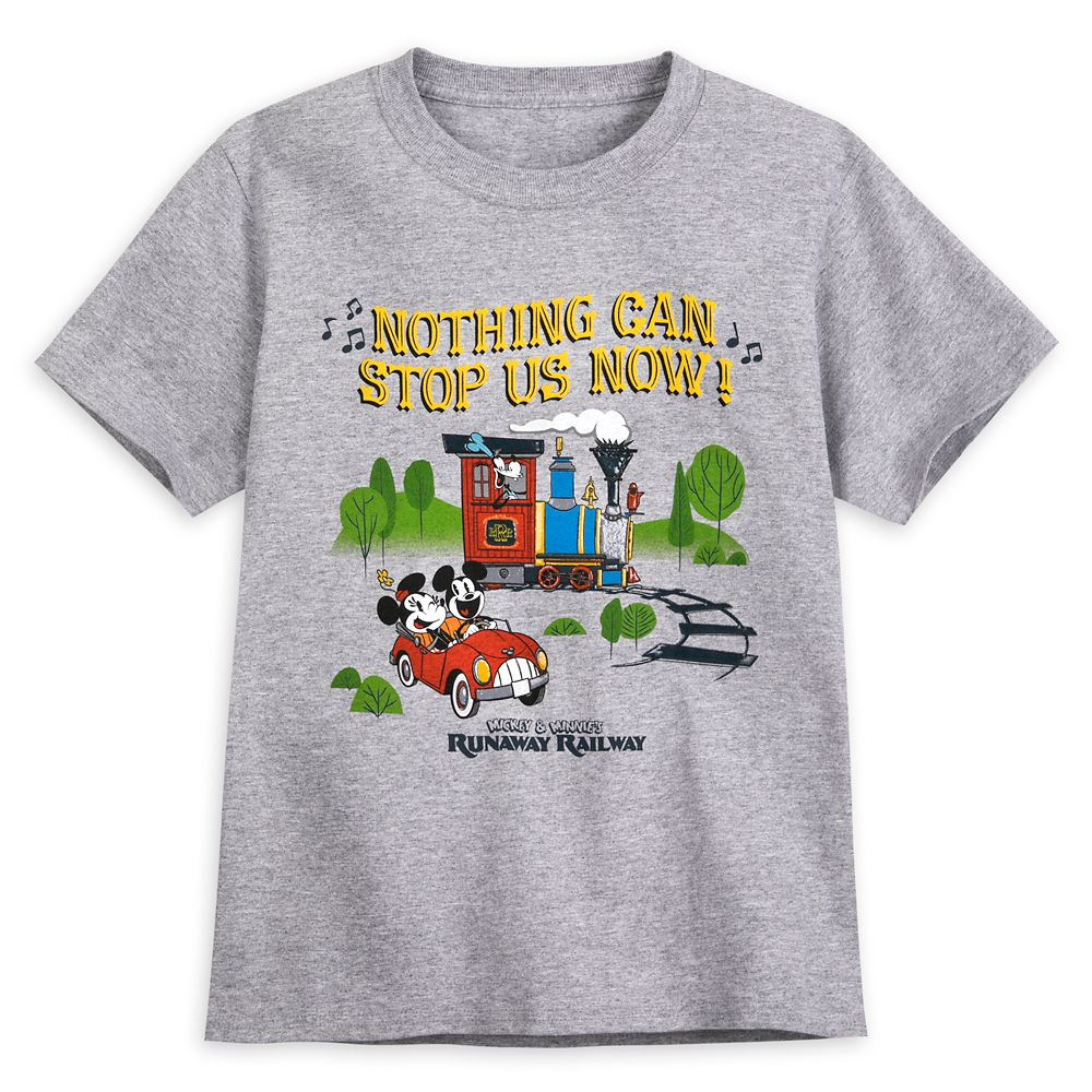 Mickey & Minnie's Runaway Railway T-Shirt for Kids