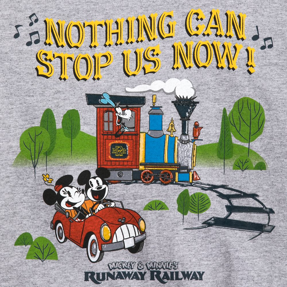 Mickey & Minnie's Runaway Railway T-Shirt for Kids