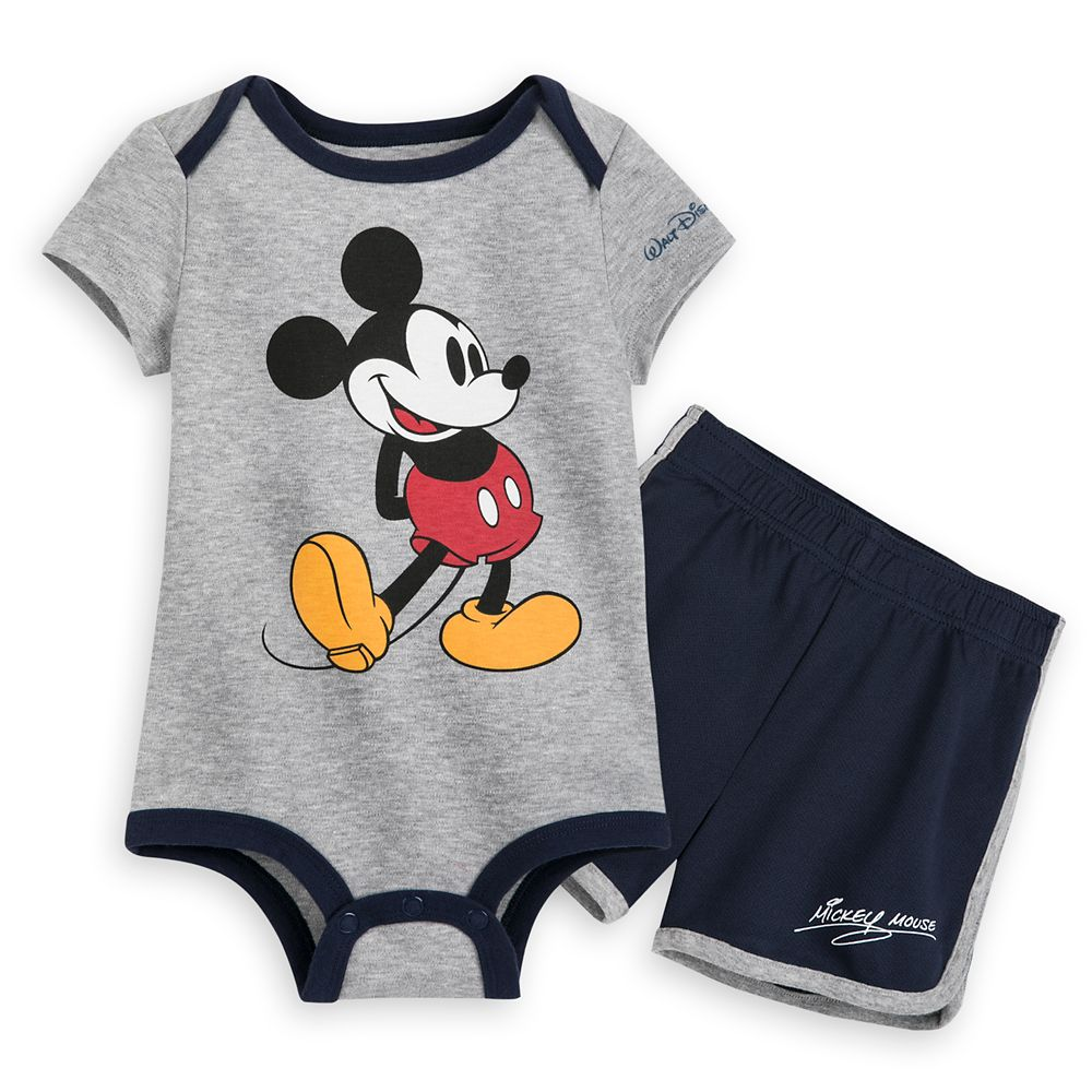 Mickey Mouse Bodysuit and Shorts Set for Baby – Walt Disney World