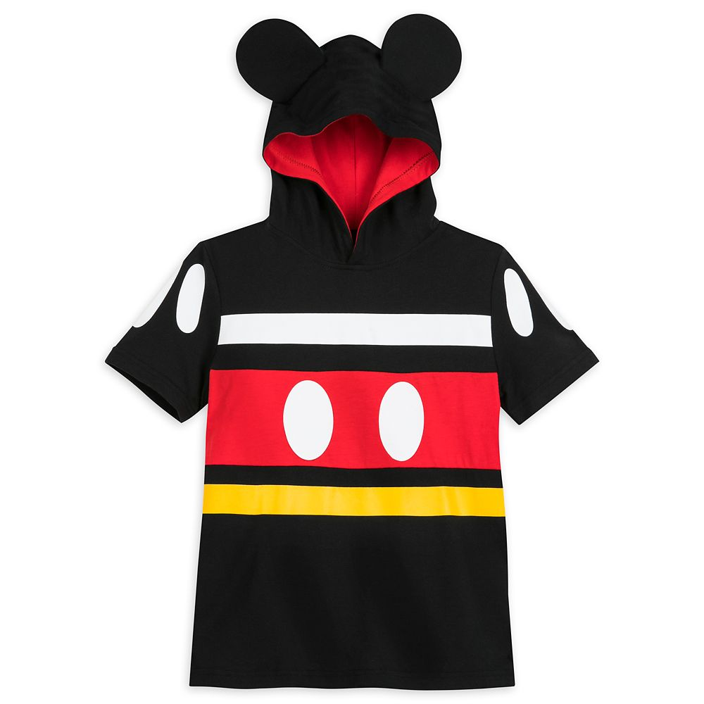 Mickey Mouse Costume Hooded T-Shirt for Kids
