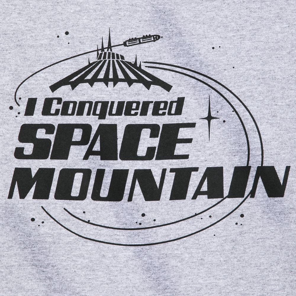 ''I Conquered Space Mountain'' T-Shirt for Kids