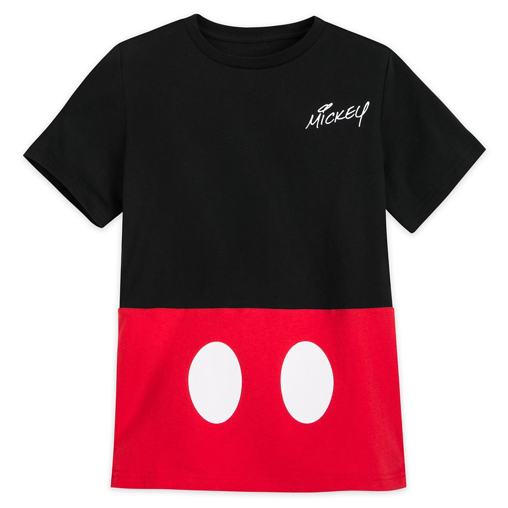 Mickey Mouse Costume T-Shirt for Boys