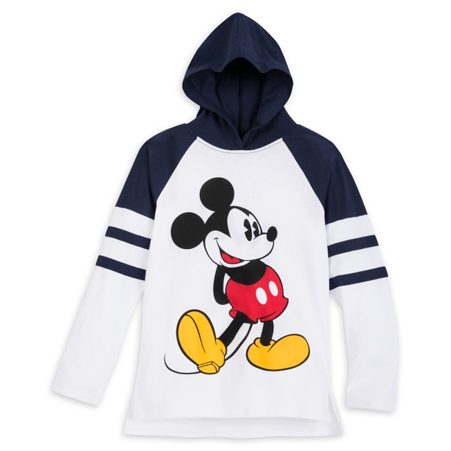 Mickey Mouse Hooded Long Sleeve T-Shirt for Kids