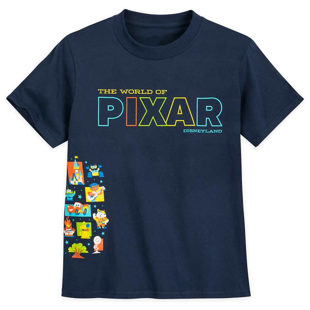The World of Pixar T-Shirt for Kids – Disneyland