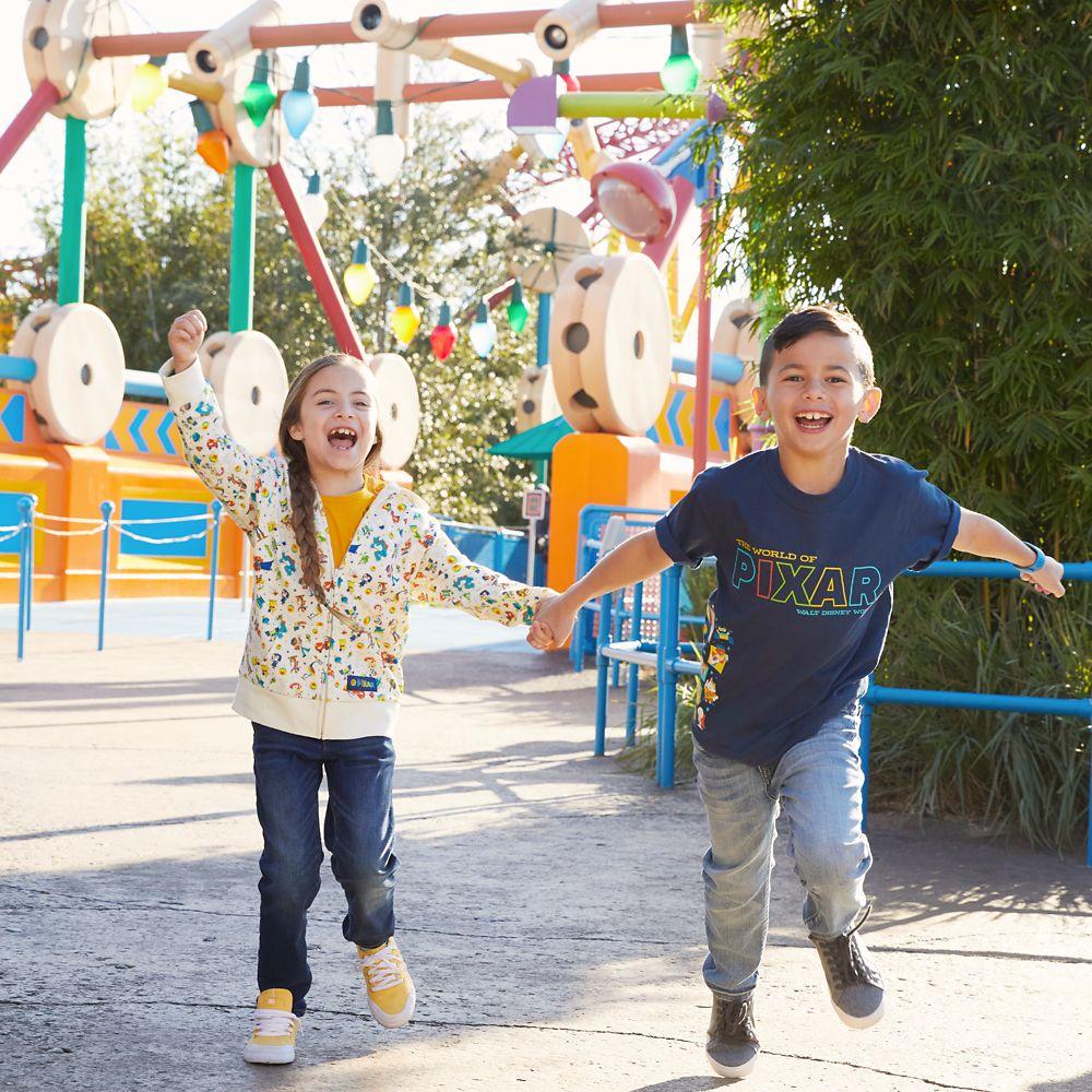 The World of Pixar T-Shirt for Kids – Disneyland