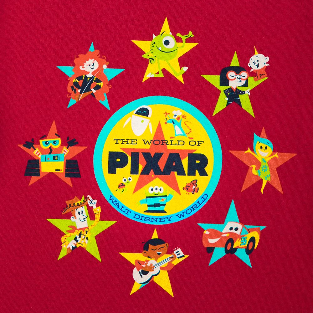 Pixar T-Shirt for Toddler Boys – Walt Disney World