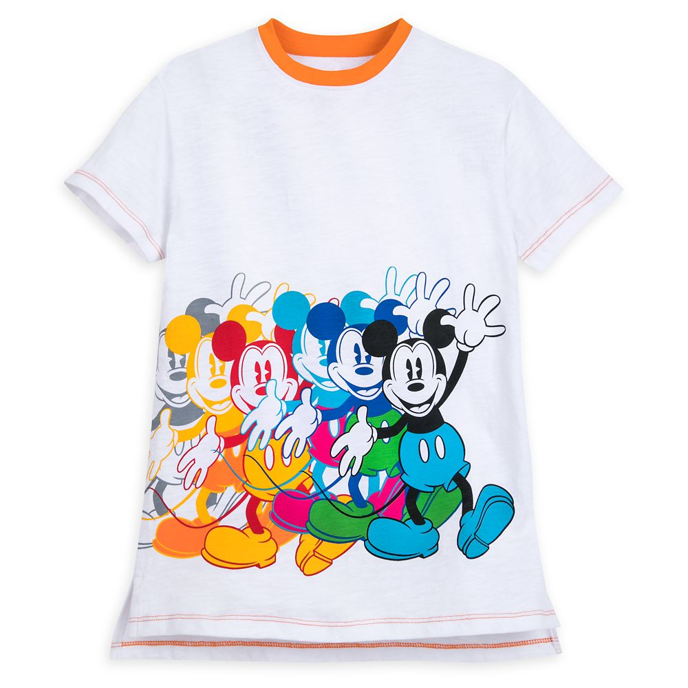 Mickey Mouse Multicolor T-Shirt for Boys