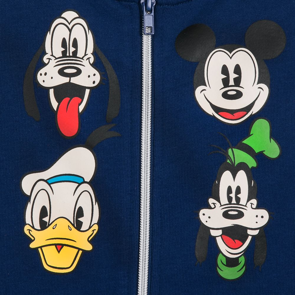 Mickey Mouse and Friends Hoodie Vest for Boys