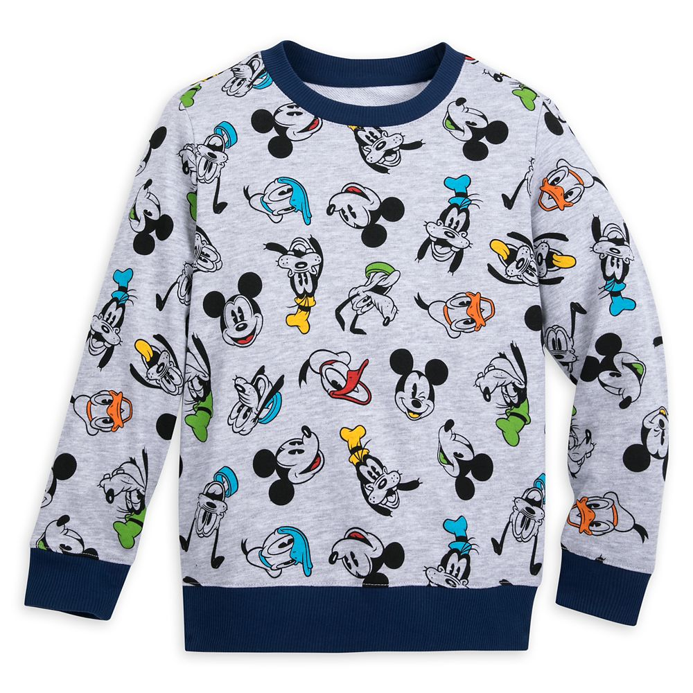 Mickey Mouse and Friends Long Sleeve Pullover for Boys