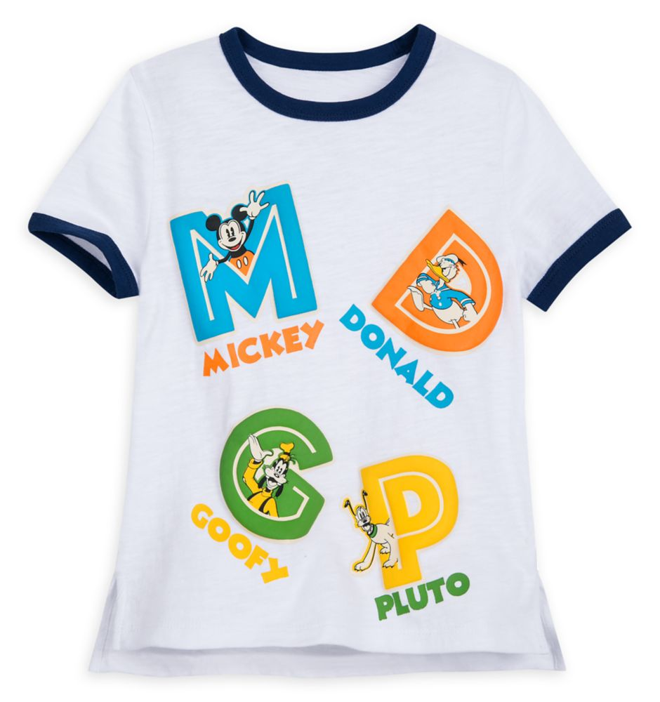 Mickey Mouse and Friends Ringer T-Shirt for Toddlers