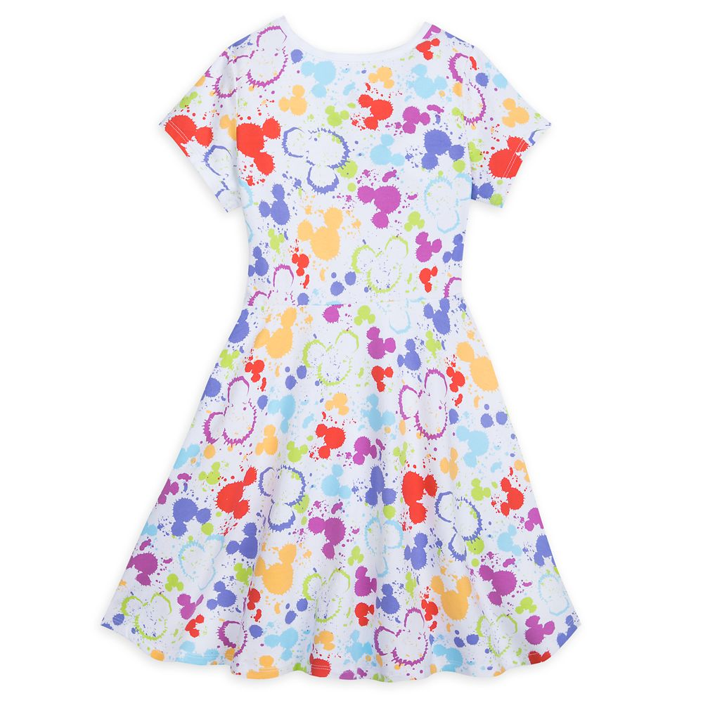 Mickey Mouse Icon Dress for Girls – Disney Ink & Paint