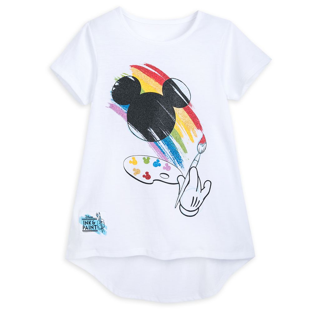 Mickey Mouse Icon T-Shirt for Girls – Disney Ink & Paint