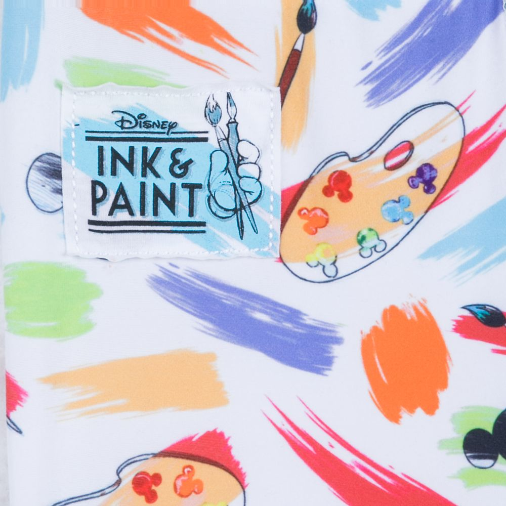 Mickey Mouse Icon Leggings for Girls – Disney Ink & Paint