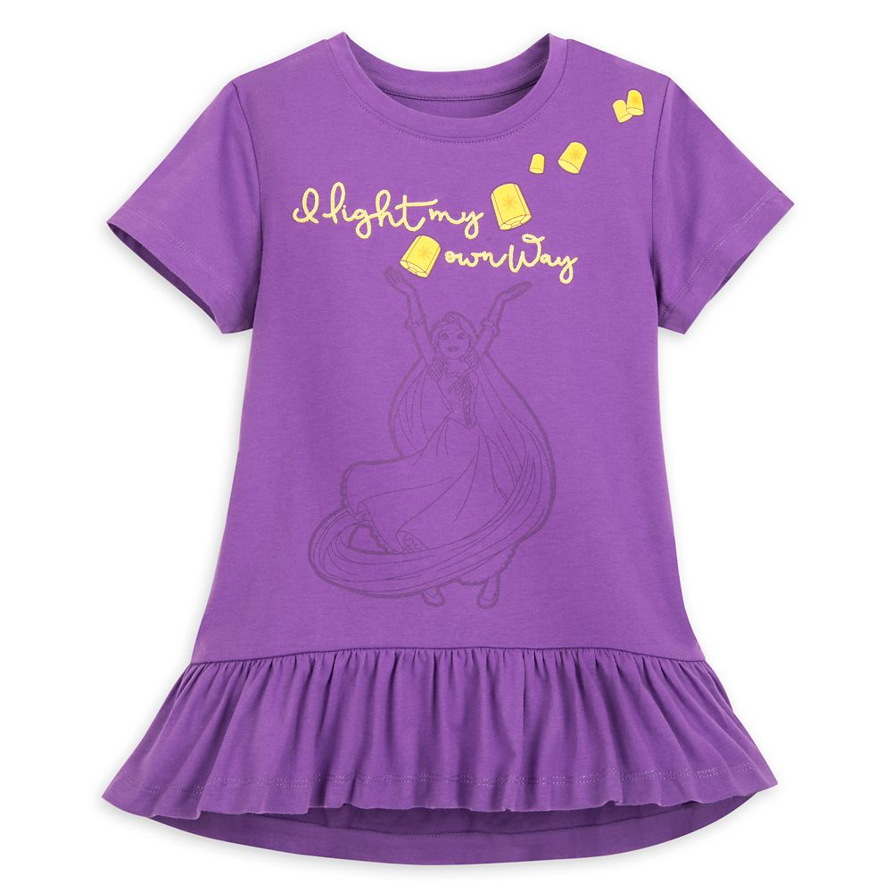 Rapunzel Fashion T-Shirt for Girls