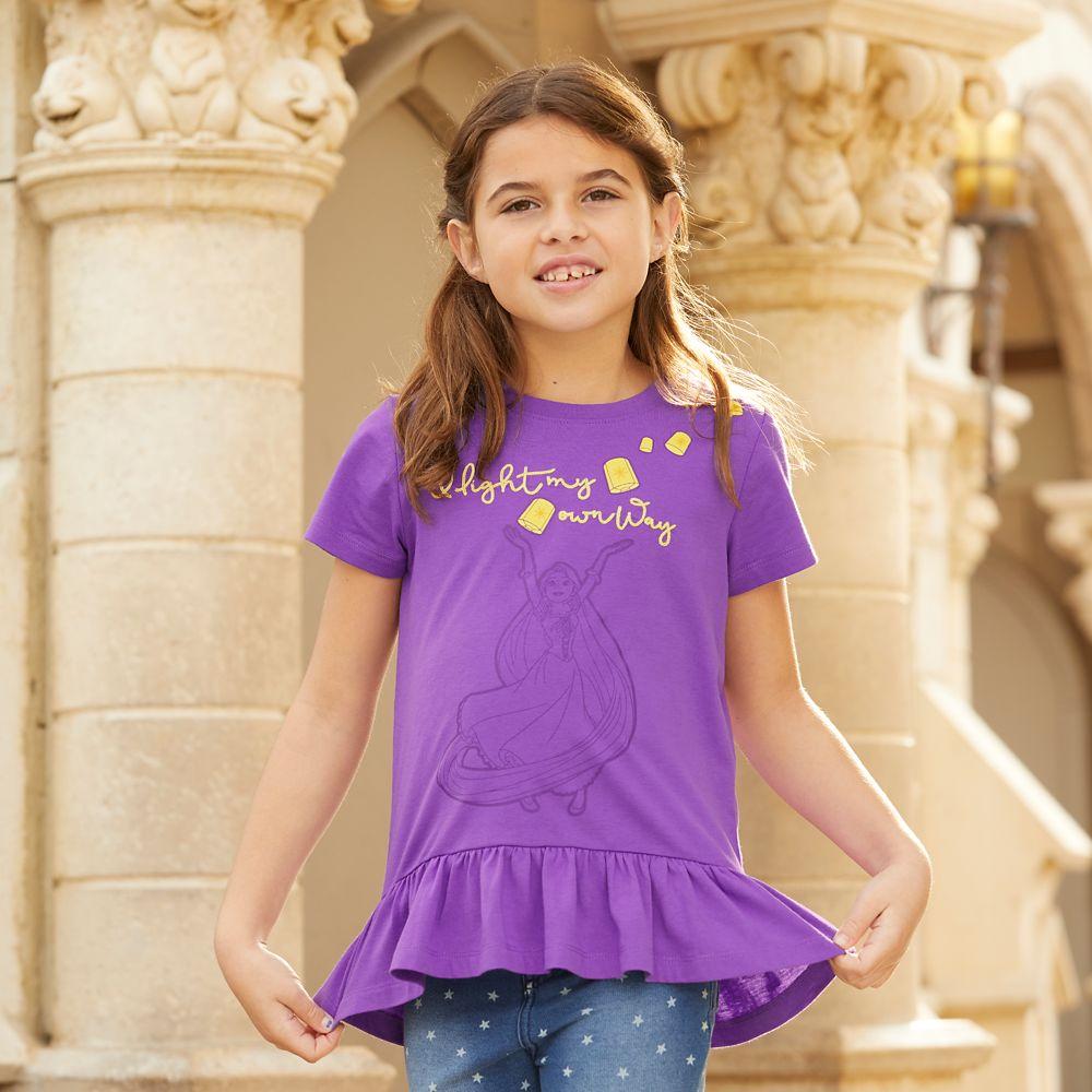 Rapunzel Fashion T-Shirt for Girls
