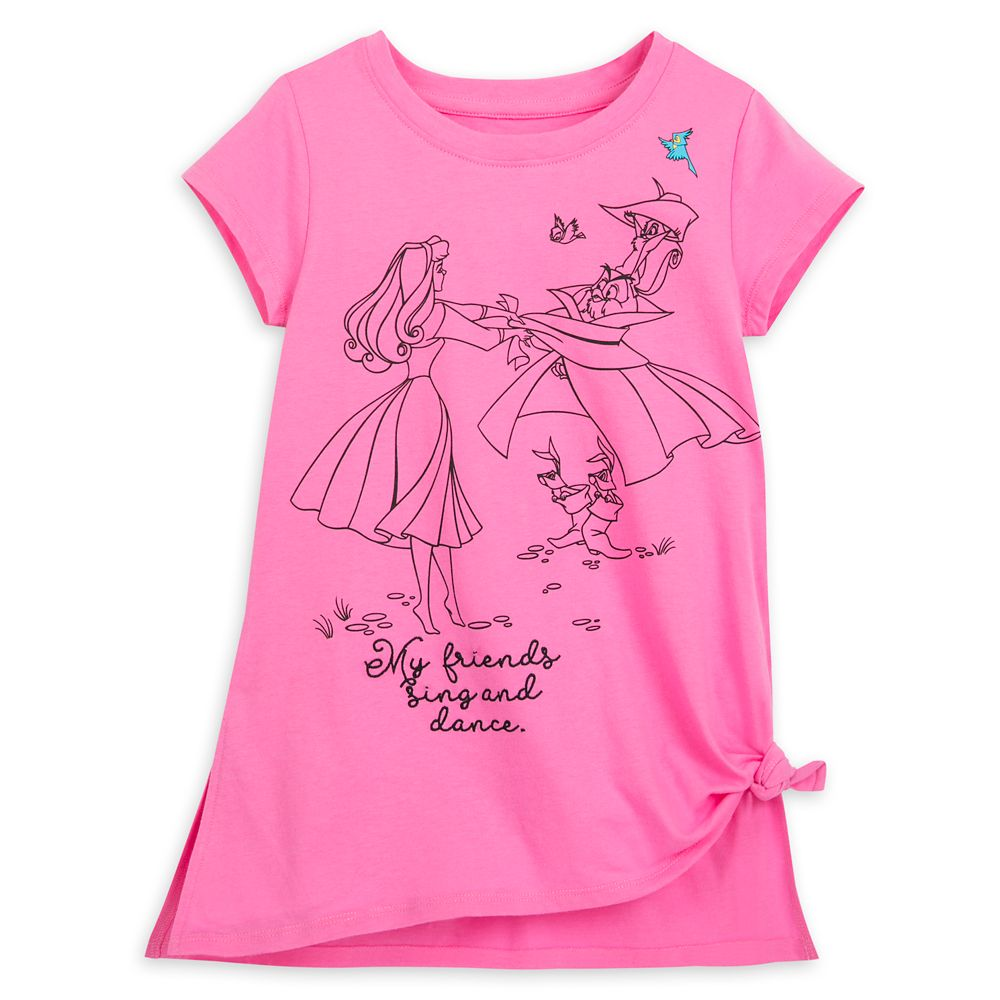 Sleeping Beauty Fashion T-Shirt for Girls