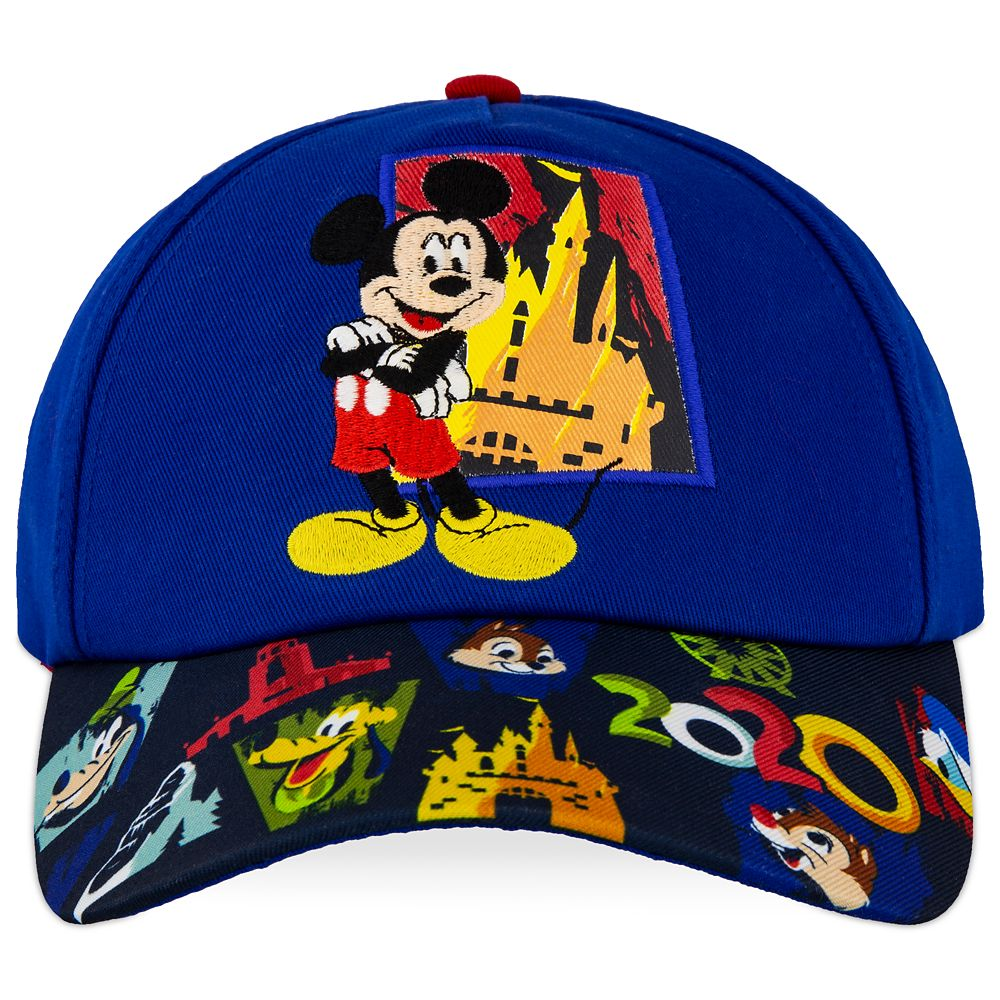 Mickey Mouse and Friends Baseball Cap for Kids – Disneyland 2020