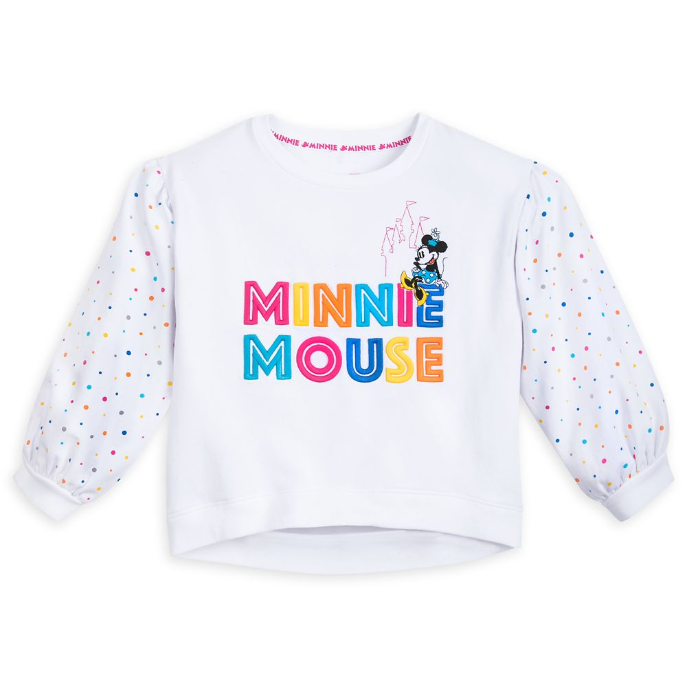 Minnie Mouse Pullover Top for Girls – Walt Disney World