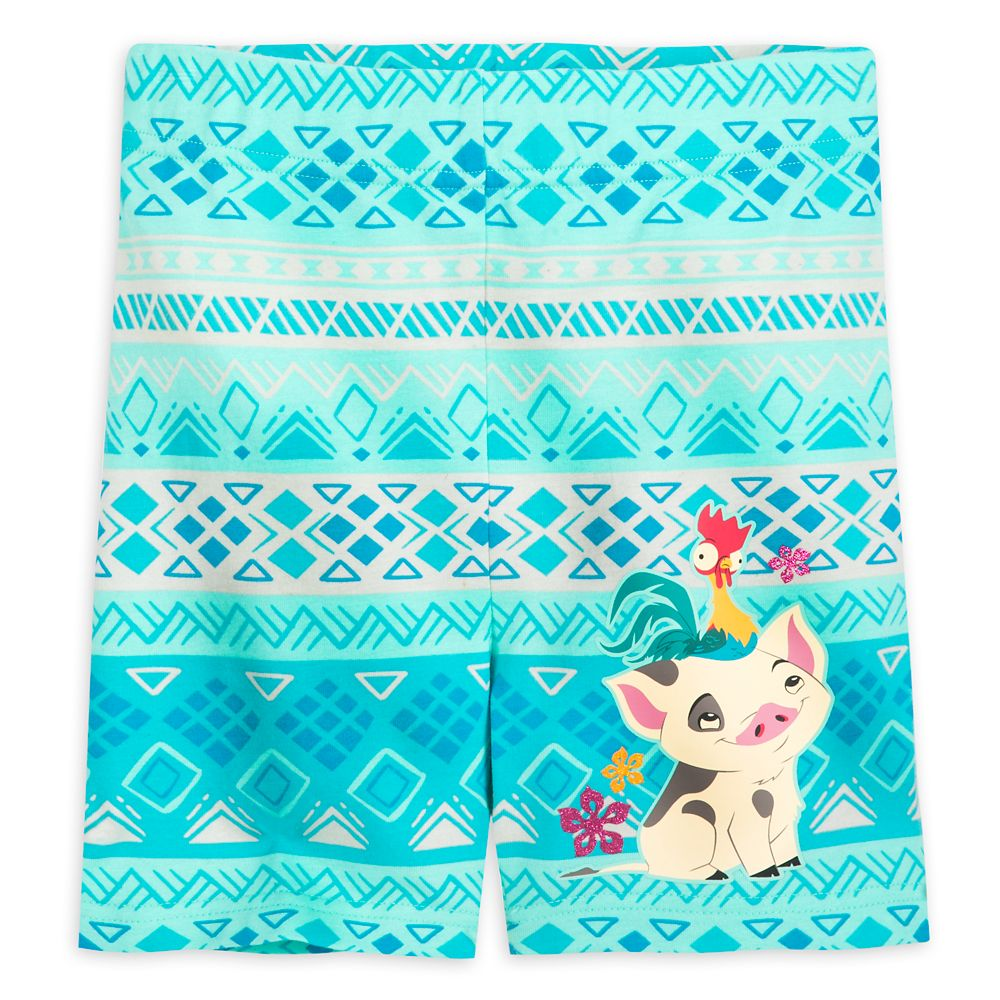 Pua and Hei Hei Shorts for Girls – Moana