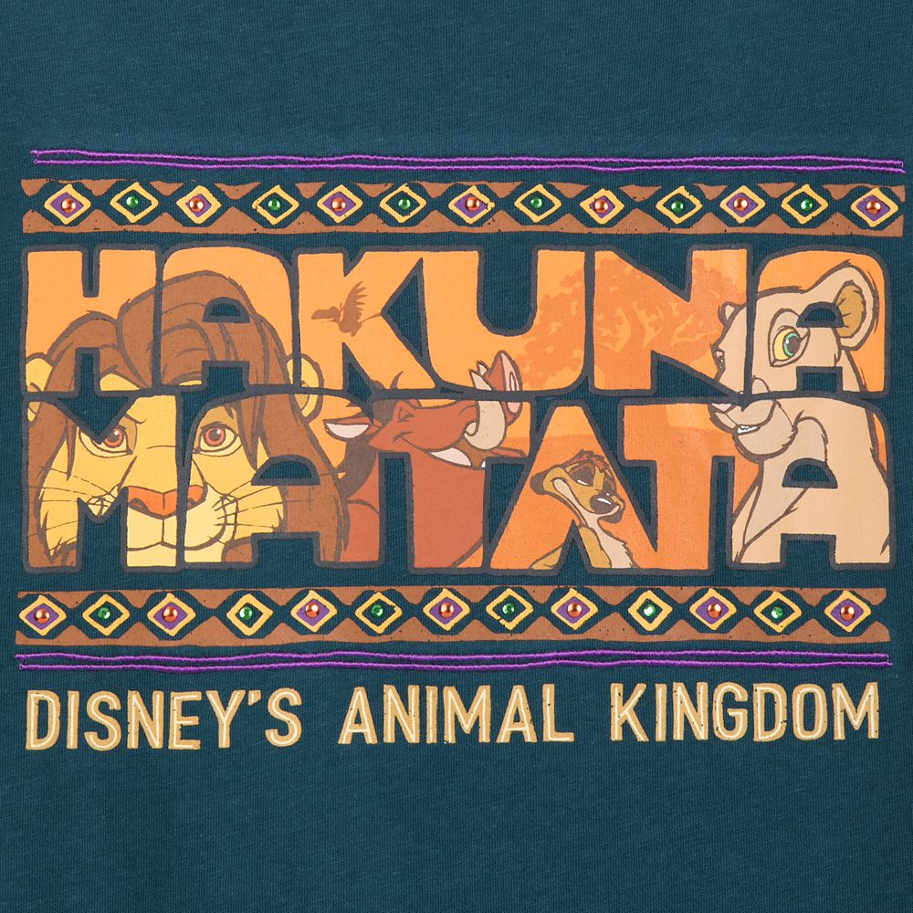 The Lion King Fringed Tee for Girls – Disney's Animal Kingdom
