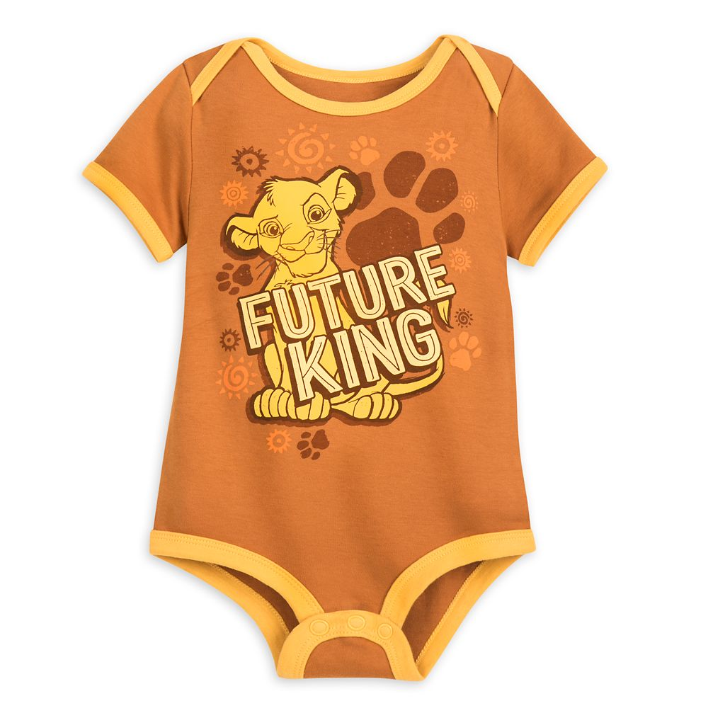 Simba Bodysuit for Baby – The Lion King