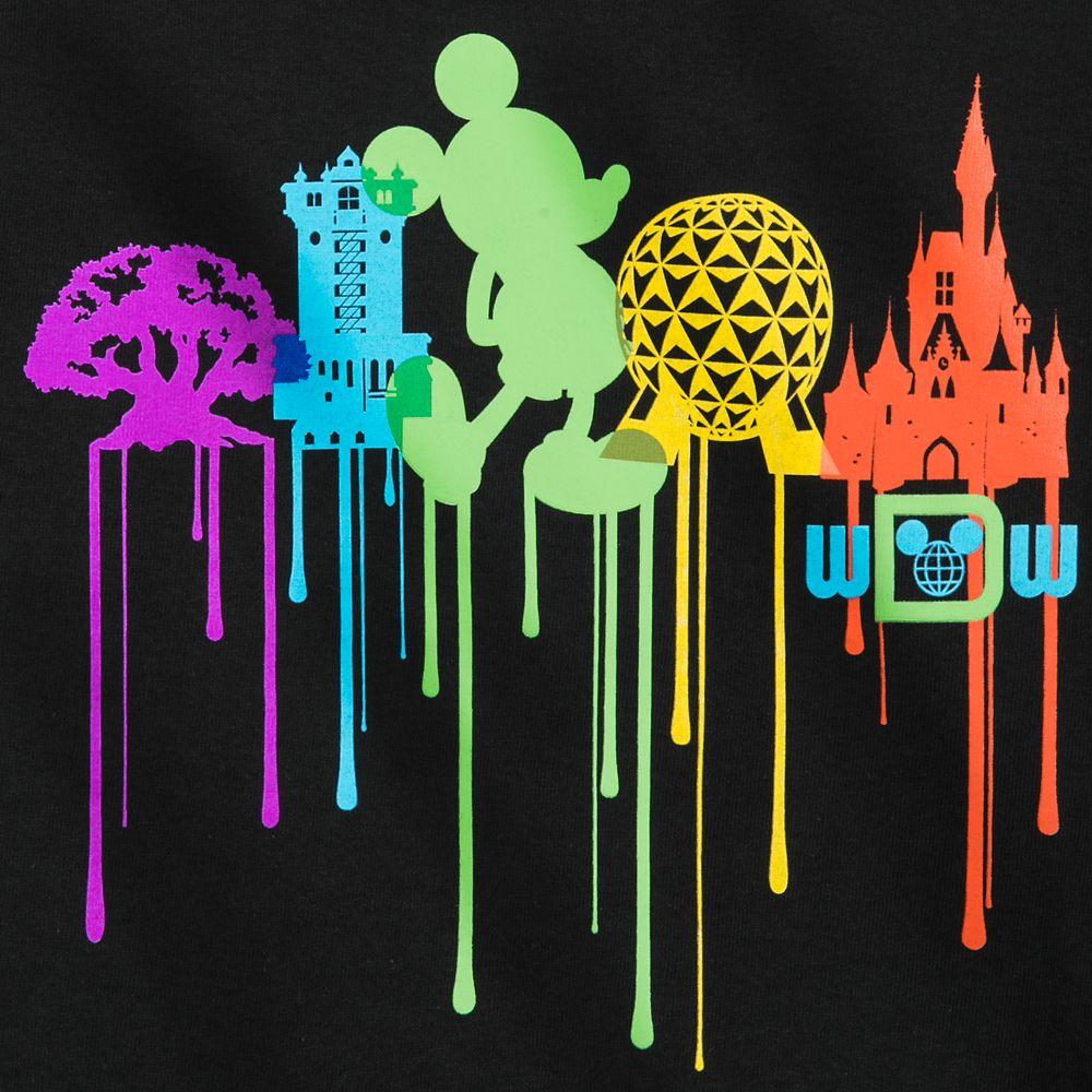 Mickey Mouse Park Icon Drip T-Shirt for Boys – Walt Disney World