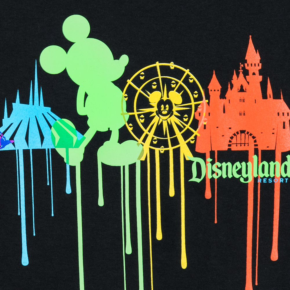 Mickey Mouse Park Icon Drip T-Shirt for Boys – Disneyland