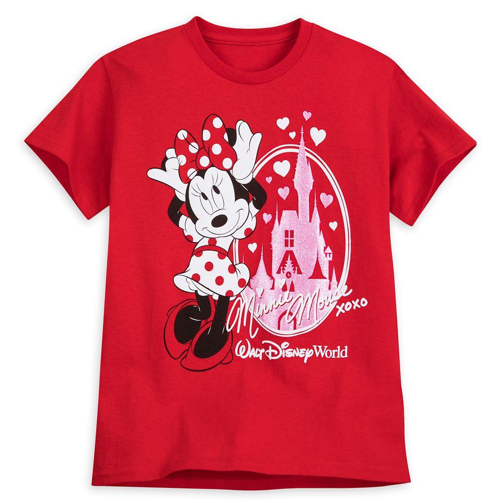 Minnie Mouse Cinderella Castle T-Shirt for Girls – Walt Disney World