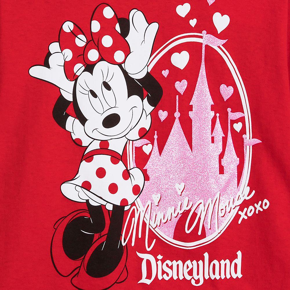 Minnie Mouse Sleeping Beauty Castle T-Shirt for Girls – Disneyland